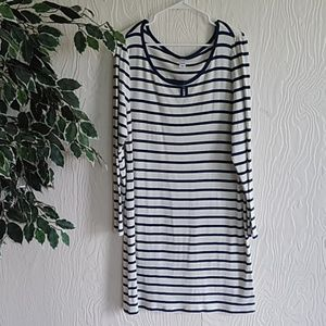 NWT old Navy striped t-shirt dress XL